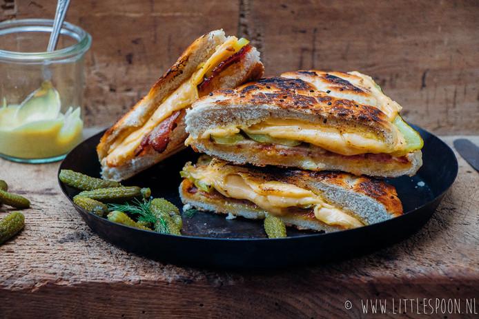 Cuban sandwich met Zeeuws spek.