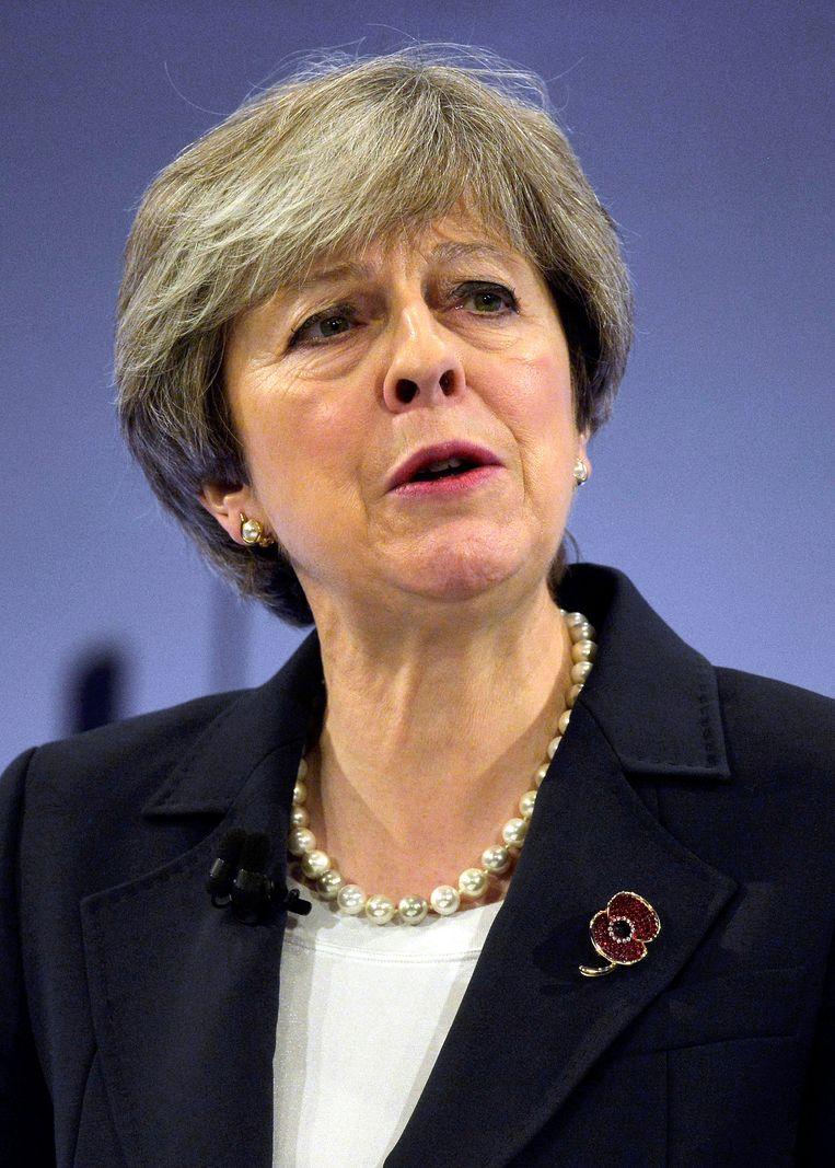 Theresa May bevestigde in eerste instantie haar vertrouwen.