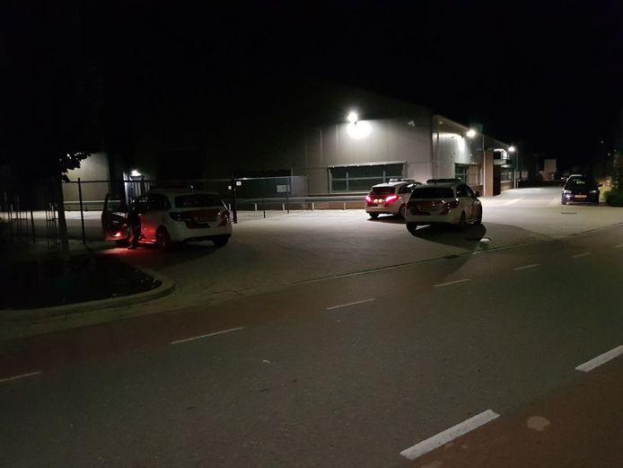 De politie was met diverse wagens naar de melding in Terborg gekomen.