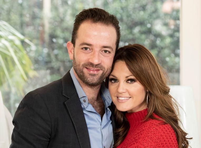 Belle Perez en haar man Wout.