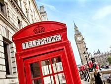 Rode telefooncellen verdwijnen uit Brits straatbeeld