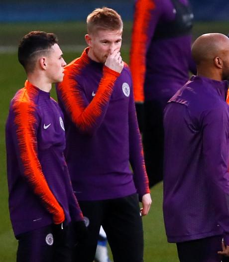 De Bruyne hoopt op minuten tegen Everton