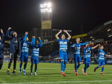 Toen het stadion van PEC Zwolle nog vol zat (met een knotsgek slot, een doelpuntenstrijd en een bak azijn)