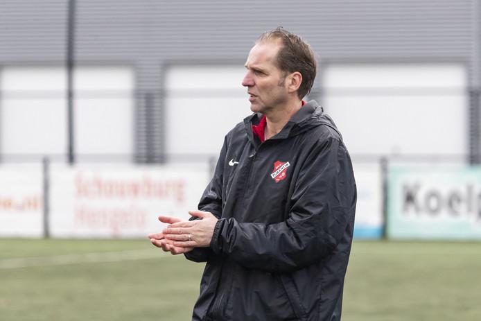 Eric van Zutphen is niet langer coach van Tubantia.