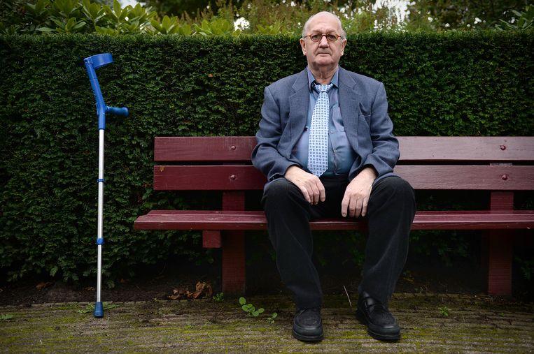 Dick van Leeuwerden, 'de butler'. Beeld Marcel van den Bergh