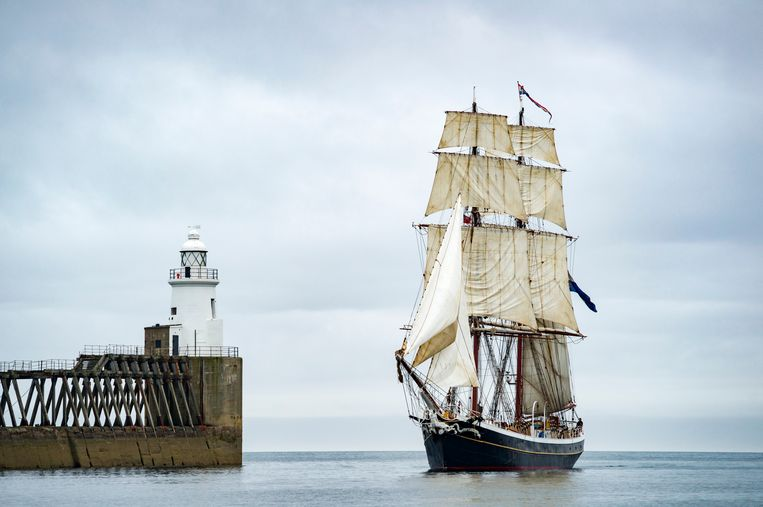 De Morgenster was er ook bij op Sail 2015. Beeld Shutterstock