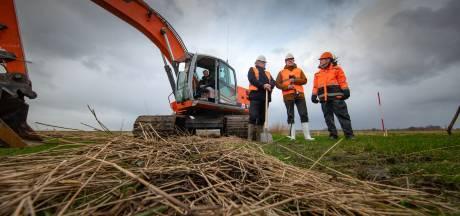 Stormachtig begin voor bouw Reevedorp bij Kampen