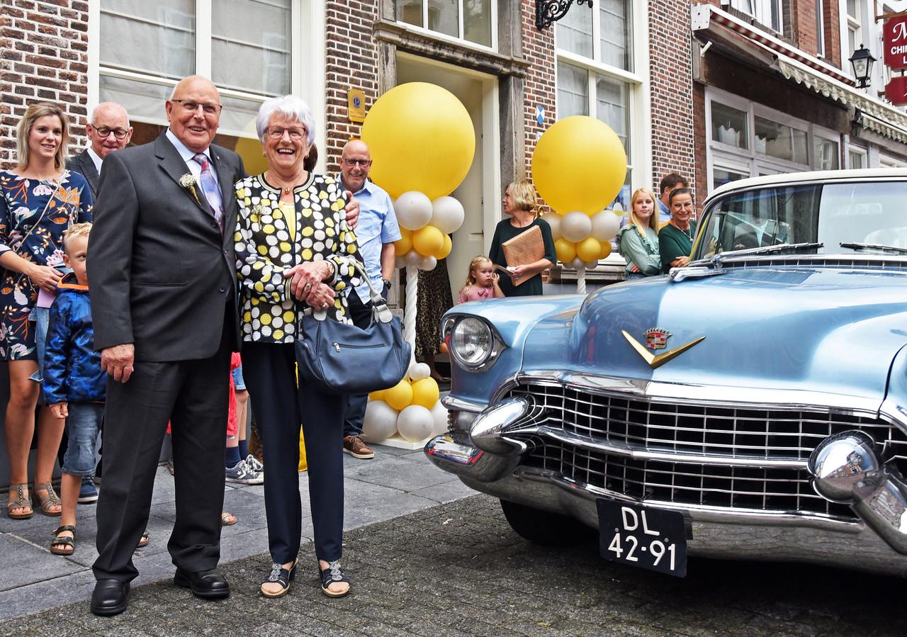 Piet en Marcella van Geertruij-van Huffel vierden afgelopen weekend hun 65-jarig huwelijksjubileum.