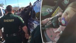 VIDEO. Gevangenen helpen meisje (1) te bevrijden uit afgesloten wagen