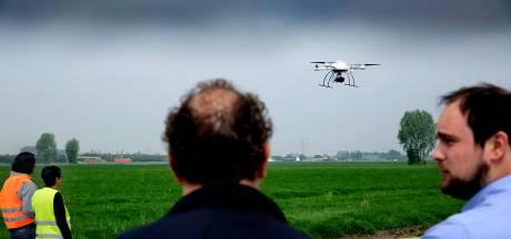 Drones sneller en vaker de lucht in: agrariërs blij