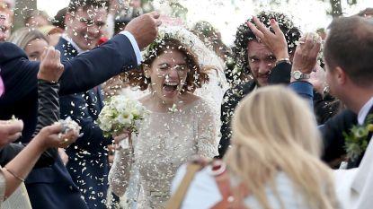 IN BEELD. Het sprookjeshuwelijk van 'Game of Thrones'-sterren Kit Harington en Rose Leslie