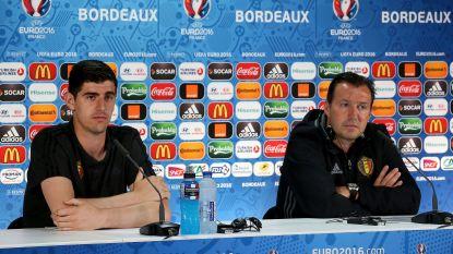 """Marc Wilmots haalt hard uit naar Thierry Courtois: """"Pa Courtois lekte de opstellingen tijdens het EK"""""""