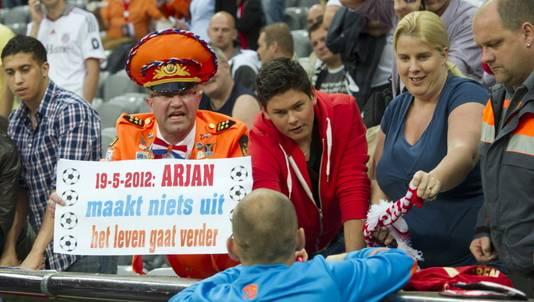 De Oranje-generaal kent de voornaam van Arjen Robben niet.