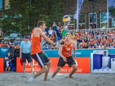 Varenhorst en Bouter naar achtste finales EK beachvolleybal