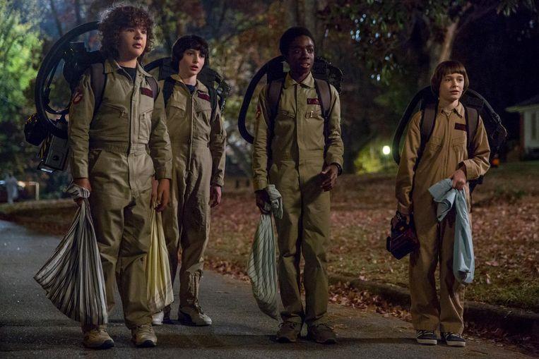 Vrijdag plaatst Netflix het tweede seizoen van Stranger Things op zijn site. Beeld Netflix