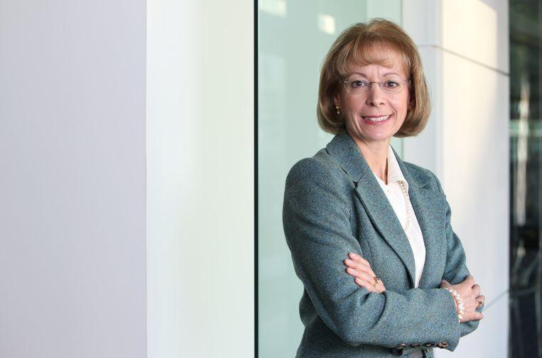 Nancy McKinstry, bestuursvoorzitter van juridische en fiscale dienstverlener Wolters Kluwer. Beeld Bloomberg via Getty Images
