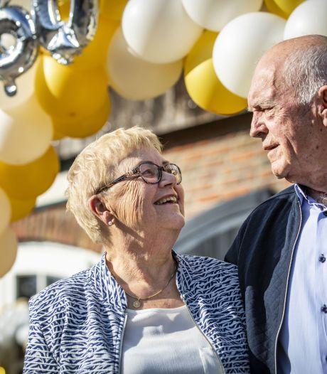 Teun en Stien uit De Lutte al 60 jaar getrouwd, ook met Babsie 1, 2 en 3