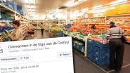 Op zoek naar afkoeling: meer dan 20.000 Vlamingen willen donderdag overnachten in frigo van Colruyt