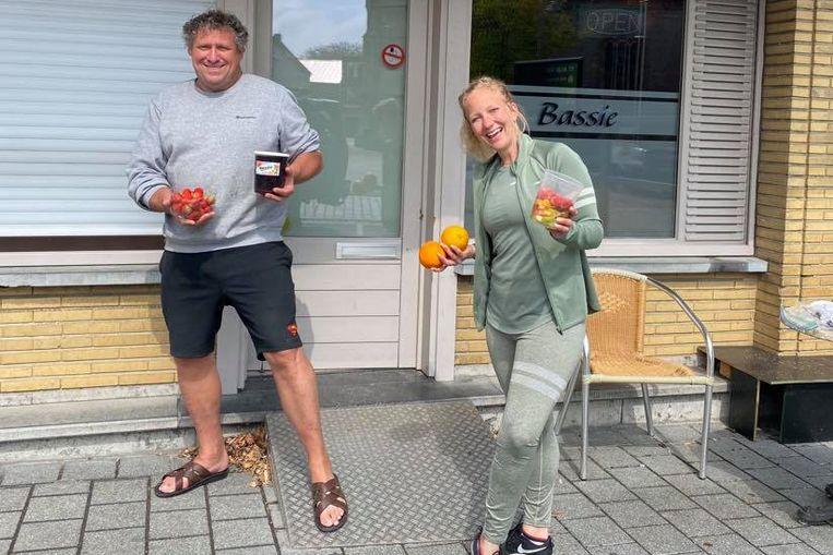 Rik 'Bassie' Vandenhove en Valerie Snoeck.