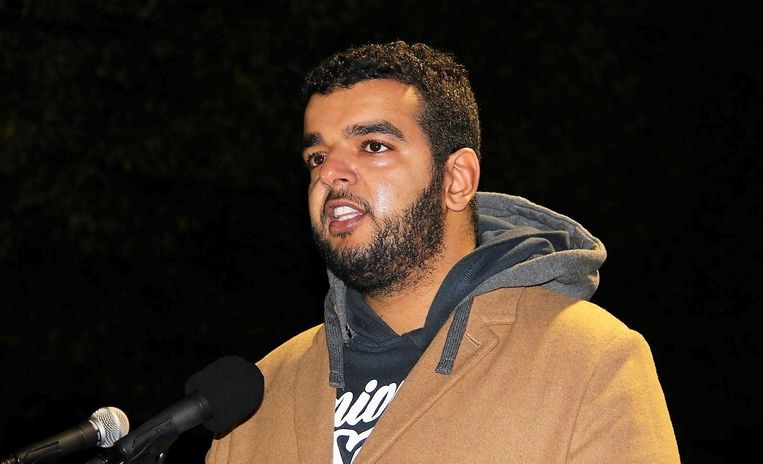 Woordvoerder Yassin El Attar.