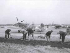 Waar nu verkeer raast op de A50, vlogen ooit Spitfires af en aan