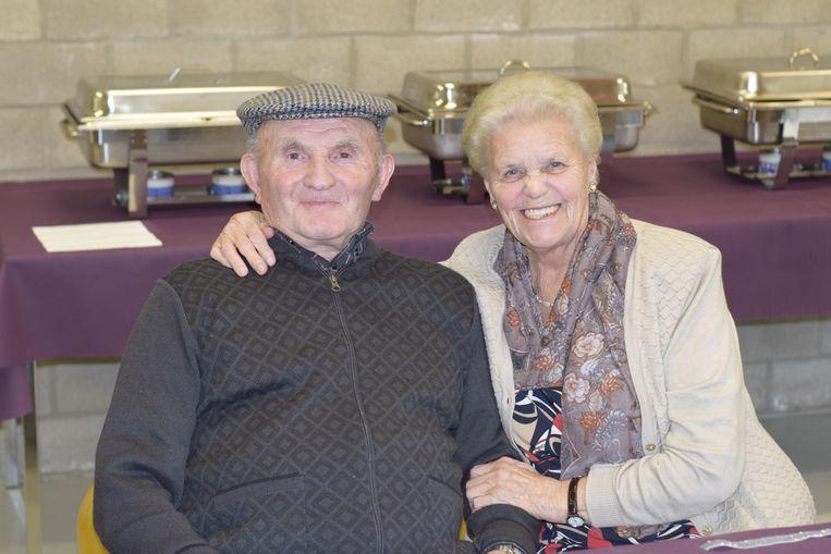 Jan Van Elven en Gusta Clonen zijn 65 jaar getrouwd.