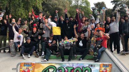 Skatehappening op de plage lokt 150 skaters