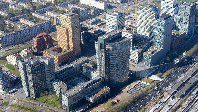 Het hoofdkantoor van ABN Amro in Amsterdam. Beeld ANP