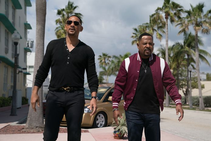 """Will Smith et Martin Laurence dans """"Bad Boys for Life""""."""