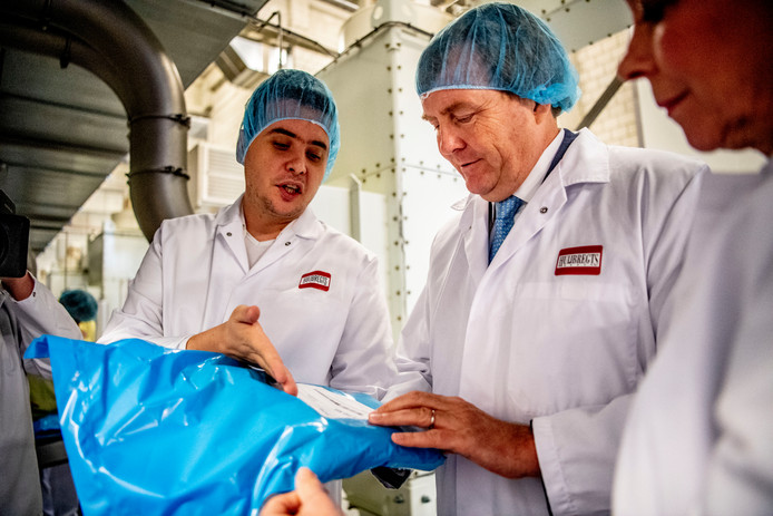 Koning Willem-Alexander bezocht in december Huijbregts Groep in Helmond. Dit bedrijf valt in de categorie 'foodtech', want het levert poedergrondstoffen aan de voedingsmiddelenindustrie.