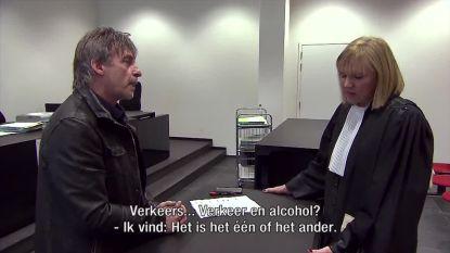 """Luk Alloo op bezoek bij oud-politierechter Schreurs: """"Of je drinkt, of je rijdt"""""""
