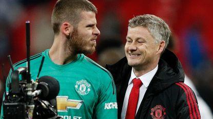 Geen Man United-trainer deed ooit beter: Solskjaer wint ook op Wembley tegen Tottenham en dankt mirakeldoelman De Gea