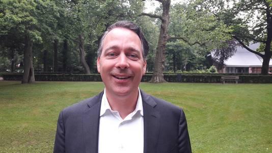 Jasper Verstand, de huidige en ook nieuwe wethouder voor D66.