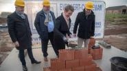 Eerste steen voor 18 sociale koopwoningen op Groot Bewijk