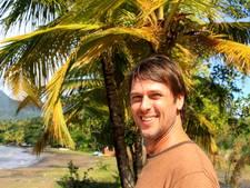 Wilco Brouwer uit Rheden in goede gezondheid op verwoest Dominica