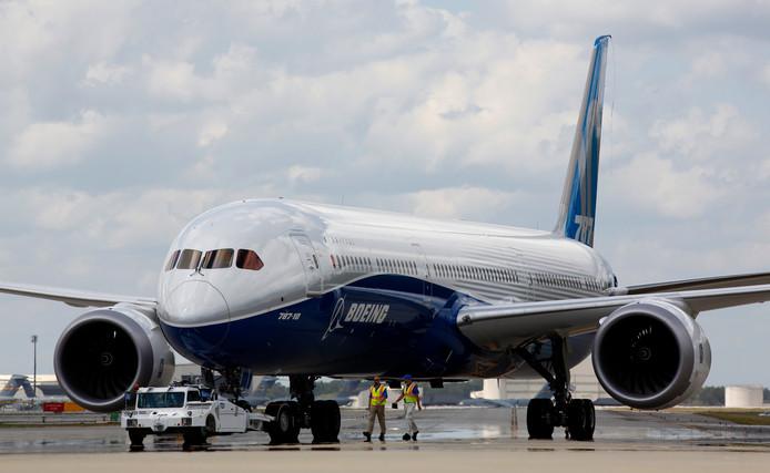 Een Boeing 787-10 Dreamliner