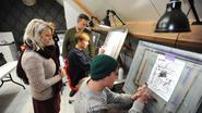Leerlingen ontdekken 'airbrush' kunstwerken