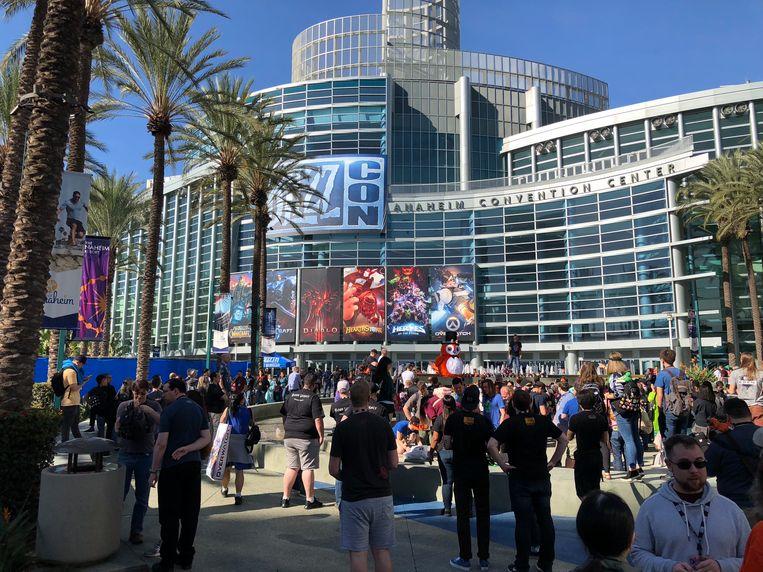 Voor BlizzCon komen tienduizenden fans van Blizzard-games jaarlijks samen in het Californische Anaheim.