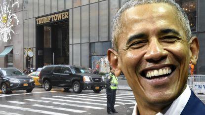Al bijna 350.000 handtekeningen om straat van Trump Tower naar Obama te vernoemen