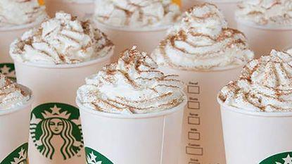 Starbucks-drankjes bevatten soms bijna drie keer zoveel suiker als Coca-Cola