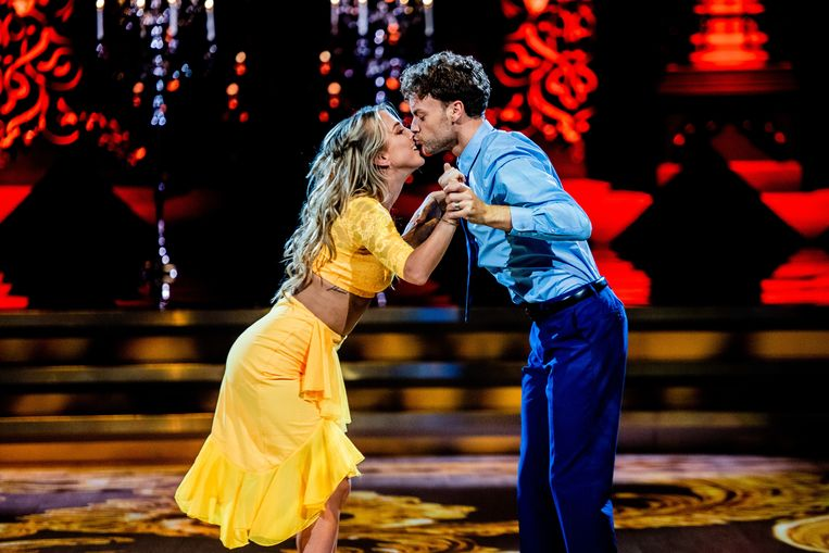 Kat Kerkhofs in 'Dancing with the Stars'.