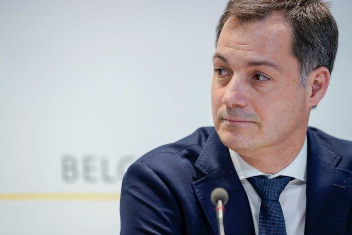Le ministre des Finances Alexander De Croo (Open VLD)