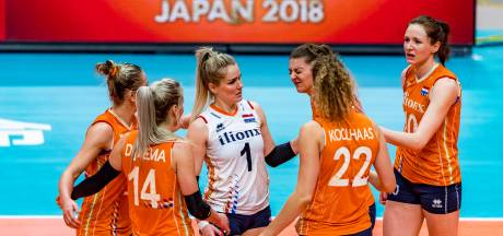 Volleybalsters met lege handen na sterk WK in Japan