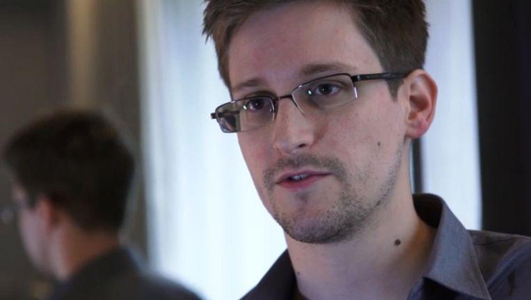 Edward Snowden. Beeld belga