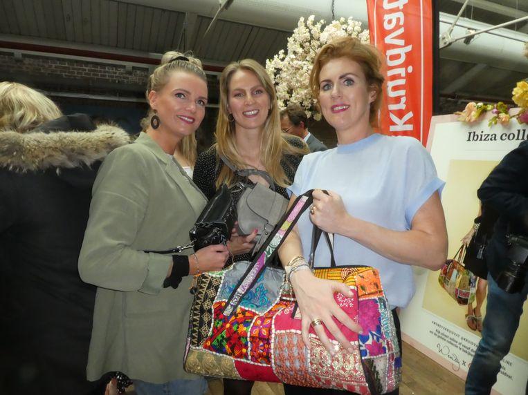 Inkoopteam Kruidvat: Kim Willigenburg, Kiona van den Brom en Ellen Michels: