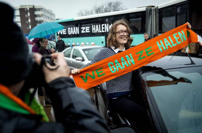 Activisten vertrokken vanuit Utrecht naar Athene.