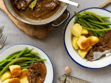 Wat Eten We Vandaag: Draadjesvlees met aardappelen en sperziebonen