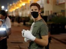 Gecrashte Grosjean bezoekt onheilsplek Bahrein