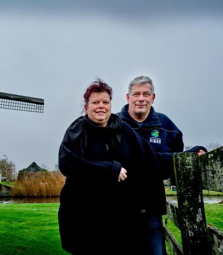 Monique en Antoine wonen in een molen en dat is niet primitief: 'We hoeven niet buiten naar de wc'
