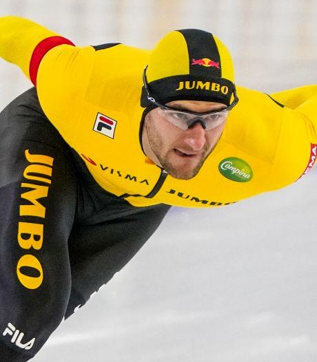 Thomas Krol heeft haat-liefdeverhouding met sprinten: Materiaalpech, val, ritzege op NK en toch vierde